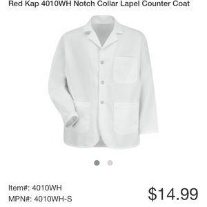 Men's lapel shirt long sleeve size Med-RG